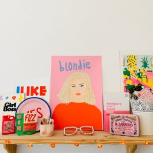Emily Ellen Illustration Blondie Print