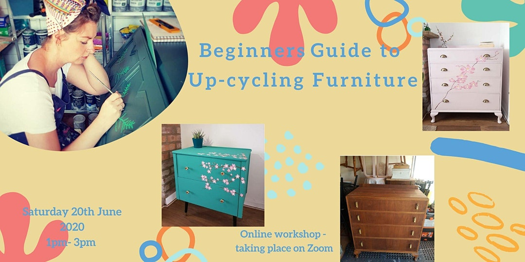 Beginners up-cycling furniture