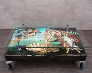Birth of Venus table